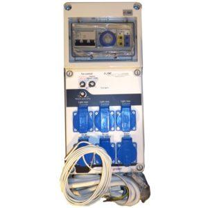 Relais minuteur 3 X 600w GSE sortie chauffage relais CEE