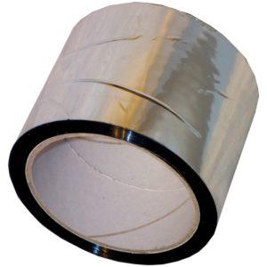 Rouleau de Bande aluminium autocollantes 7,5cmx 5mtr