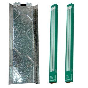 Kits Fluocompactes 2*55w ampoules Sylvania 830 (flo)