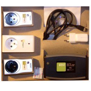Green Box contrôle des alimentations électriques