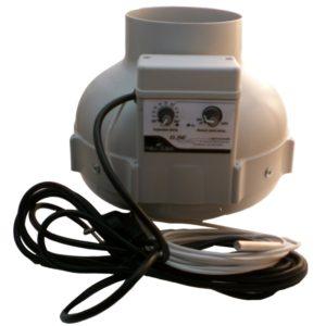 Extracteur PK 400m3/h thermostat/régulateur intégrés