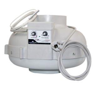 Extracteur PK 800m3/h thermostat/régulateur intégrés