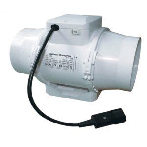 Extracteur TT 125 2 vitesses (220 ou 280m³/h)