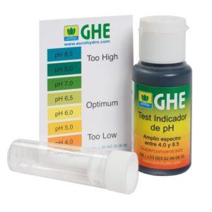 Ph test réactif chimique (Easy Test ou GHE)