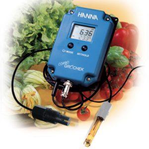 Combo Hanna EC/Ph HI 991405 sur secteur