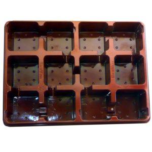 Plateau souple pour 12 pots 9*9cm