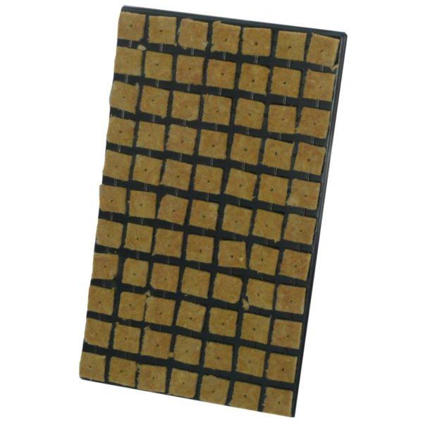 Plateau de 77 cube de laine de roche