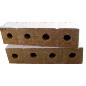 Cube de lain de roche 7,5*7,5*6,5par 8
