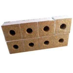 Cube de lain de roche 10*10*6,5 par 8