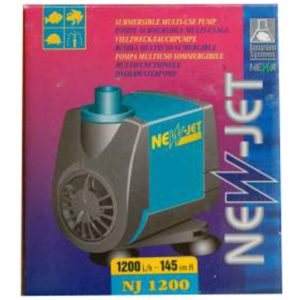 Pompe à eau 1200l/h NEWJET